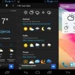 ¡15 aplicaciones y widgets del tiempo para Android!