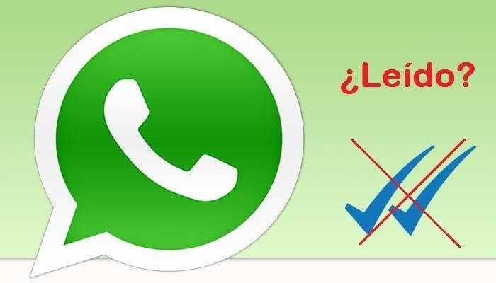Trucos para evitar mensaje leido Whatsapp - Doble tick azul
