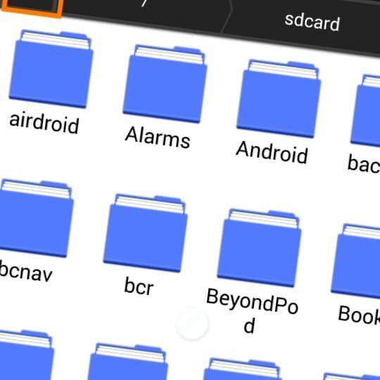 Aprenda a usar el explorador de ficheros ES Android