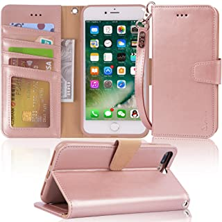 Arae Case (iPhone 7 Plus / iPhone 8 Plus) is made up of a premium PU leather wallet case with a kickstand and flip cover.