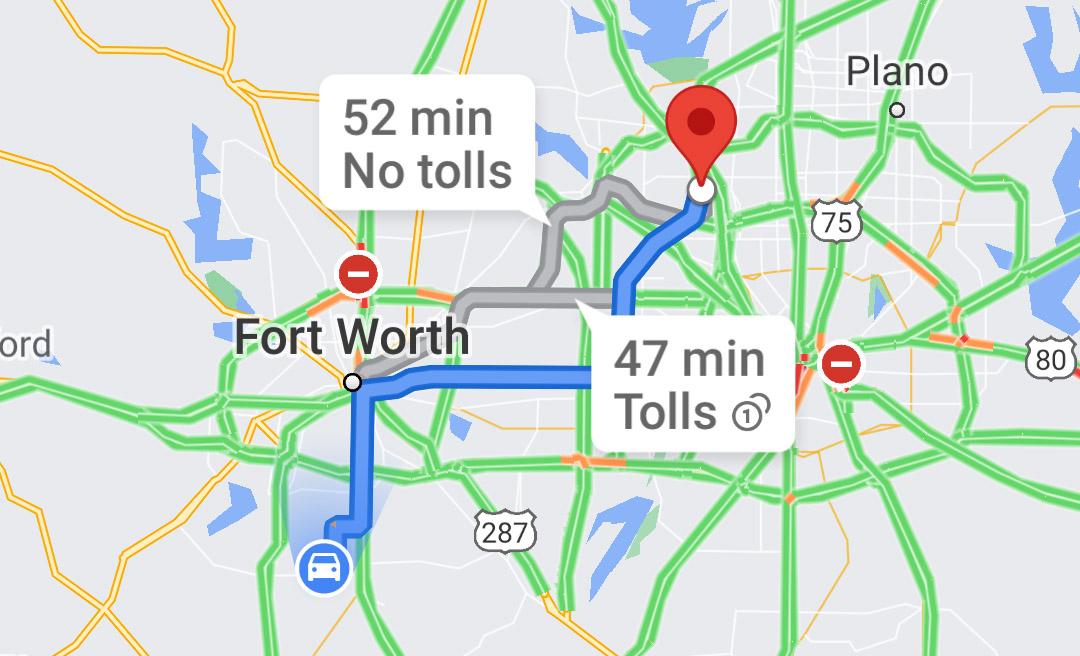 Google Maps finalmente puede mostrar cuánto costarán sus peajes