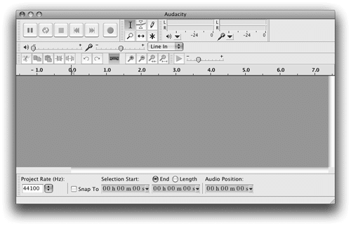 Audacity Workspace