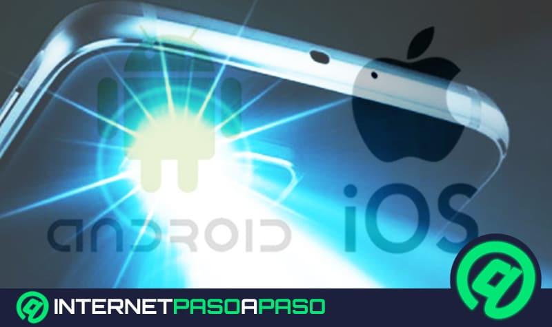 como activar el modo de linterna para los dispositivos android