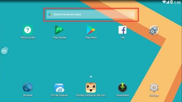 Emulador de Androides 9
