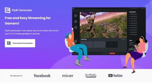 Xsplit Download Gamecaster Live Stream Smashcast